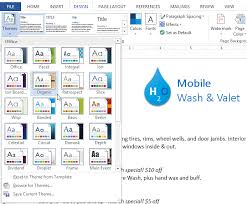 Word 2013 Themes Word 2013 Themes