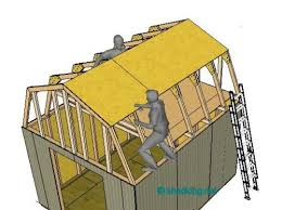 12x16 Barn Shed Plans Would Make A Great Tiny House With All That Gambrel Roof Plans