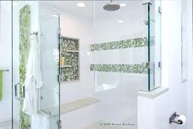 shower tile accent strips mosaic glass tile shower accent modern bath with bathroom shower tile accent