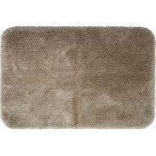 mohawk home sauna bath rug 2 x 3 bath rug in khaki tan