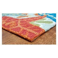 wonderful liora manne rugs at ravella ocean scene indoor outdoor rug target