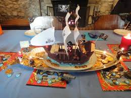Decoration Table Anniversaire Enfant Pirate | Déco ...
