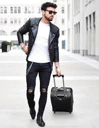 black leather jacket won t go wrong best ideas to wear white t shirt men s casual fashion latest trends