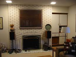 before and after fireplace remodel eclectic living room