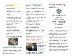 Youth Church Flyer Templates Daycare Free Mediaschool Info