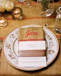 Indonesian Table Setting Menu Cards From Real Weddings Martha Stewart Weddings