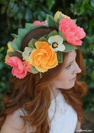 Paper Flower Headbands Diy Crepe Paper Flower Headband Lia Griffith
