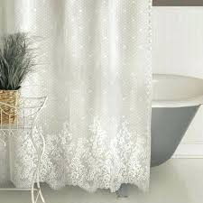 white lace shower curtain. White Lace Curtains Shower Uk Curtain