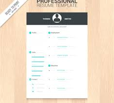 Professionale Templates Free Download Creative For Freshers Simple ...