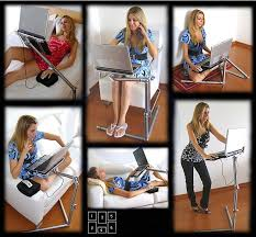fashion design folding laptop desk for standing 25 40