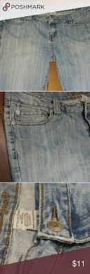 Wet Seal Straight Cut Jeans Long