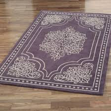 purple area rug 5x7