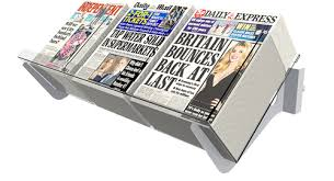 Newspaper Display Stands Delectable Bartuf Newspaper Displays Shelving