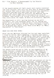 Noel Redding His Letter About The Jimi Hendrix Experience Jas