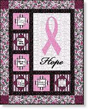 138 best Breast Cancer Awareness images on Pinterest | Cold ... & breast cancer awareness pink ribbon quilt Adamdwight.com