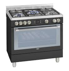 DEFY 900 mm 5 Burner GasElectric Stove Anthracite Lowest Prices
