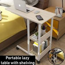 Bedside laptop table Laptop Stand Qoo10 Qoo10 Laptop Desk Furniture Deco
