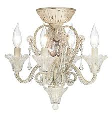 ceiling fan light kit. pull chain crystal bead candelabra ceiling fan light kit