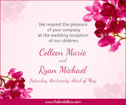 50 Wedding Invitation Wording Ideas You Can Totally Use