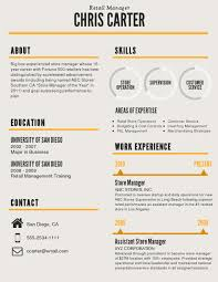 The Best Resumes Free Resume Examples By Industry Job Title 6 - The ...