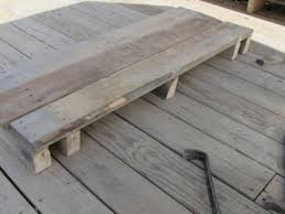 how to build a diy pallet table diy