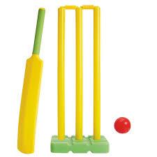 Kids Space Plastic Cricket Set   Target Australia
