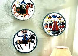 wall plates decorative design ceramic decor cooper india wall plates decorative design ceramic decor cooper india