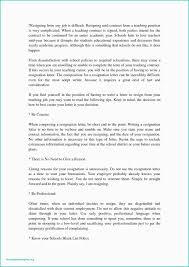 Cover Letter For Teaching Job In School Resignation Letter From