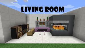Minecraft Living Room Furniture Minecraft Furniture Livingroom Tutorial 4 Youtube