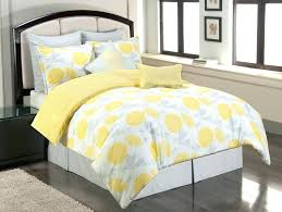 grey and yellow duvet cover grey bed set full an introduction to gray and yellow bedding
