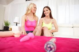 Alli Rae and Molly Jane Love Sex Toys XXXBlonds