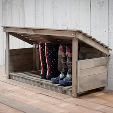 modish furniture. wooden welly store made from wood modish living garden furniture