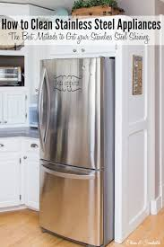 The best way to clean stainless steel appliances for a streak-free, shiny  finish
