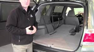 2012 | Toyota | Highlander | 2nd Row Seats Fold Down | How To By ...