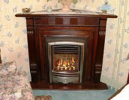image of zero clearance wood burning fireplace