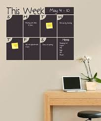cool wall stickers home office wall. total sign solutions and cnc u0027this weeku0027 bubble days chalkboard calendar wall decal cool stickers home office c