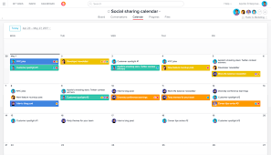 Gantt Chart Social Media 4 Time Saving Social Media Management Workflows And Templates