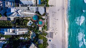 a bird s eye view of park royal cancun all inclusive
