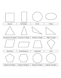 Small Picture Free Printable Shapes Coloring Pages For Kids
