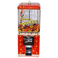 Northwestern Vending Machines For Sale Classy 48s Northwestern Mike And Ike Themed Candy Machine For Sale At 48stdibs