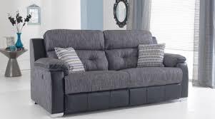fabric recliner sofa. Charlotte Fabric Recliner Sofa