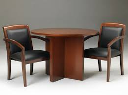 small round office tables. Round Wooden Conference Table With Chair Set Small Office Tables O