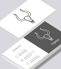 tech business card toro tech business card modern design