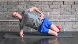 Simple Side Plank Progression Chris Johnson Pt