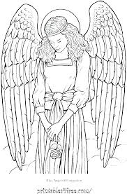Anime Angel Coloring Pages Anime Angel Coloring Pages Angel Pictures