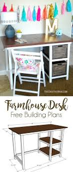 office desk for bedroom. Farmhouse Desk Free Building Plans This Is A Fun And Easy Build Office For Bedroom I