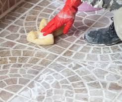 removing grout haze cleaning grout