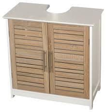 freestanding non pedestal under sink vanity cabinet bath storage wood stockholm contemporary bathroom