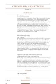 Dietary Aide Resume samples