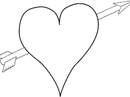 Image result for hearts with an arrow